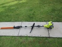 RYOBI PETROL EXPAND IT STRIMMER / HEDGE TRIMMER