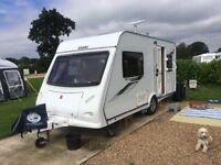 Caravan Elddis Xplore 452 berth with motor mover.Very good condition. Fully maintained. 2011.