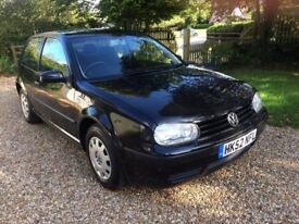 VW Golf, 3 door, 2002, Petrol, Manual