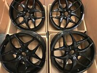 20 inch 5x120 Gloss Black Alloy Wheels Rims fits: BMW X5 E70 BMW X6 E71 VW TRANSPORTER T5 T6