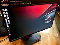 "Asus ROG Swift PG279Q 27"" WQHD 165Hz IPS G-Sync 2K Gaming Monitor"