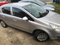 Vauxall corsa 1.2 16valve with built in bicycle rack