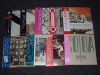 Led Zeppelin 9 CD Collection of Japanese Replica Mini LP's