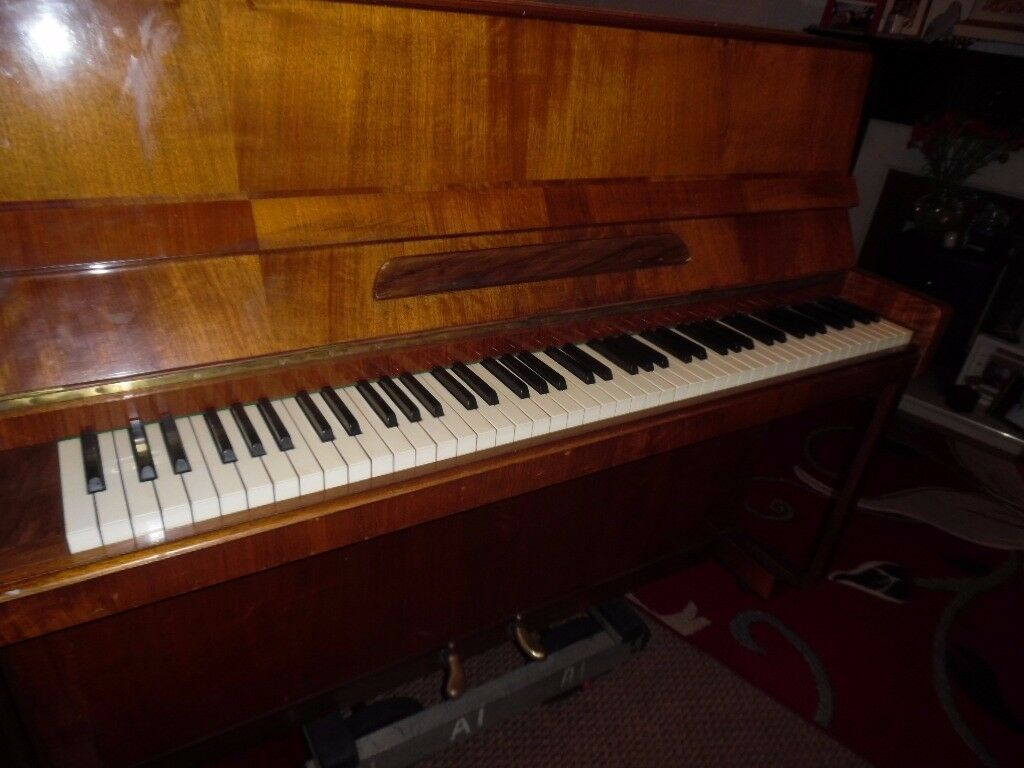 upright piano by dagmar