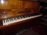 upright piano by dagmar