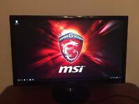 Asus gaming monitor LCD screen 24 inches