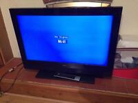 "Technika 32"" LCD tv with stand and remote fully working"