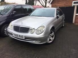 Mercedes e220 2002 for sale £1995