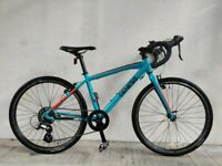 "SERVICED (4518) 24"" GENESIS MADISON Aluminium KIDS ROAD BIKE BICYCLE Age: 10-13, 140-155 cm"
