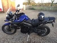 Triumph Tiger 800 ABS - immaculate condition - full McCallen Service History