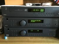Arcam fmj A19 and fmjcd17 and T32 tuner in black all cables are Sevenoaks all remotes and boxes