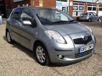 Toyota Yaris 1.3 VVT-i SR 5dr 1 owner from new,low mileage