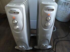 X2 Oil Filled radiators