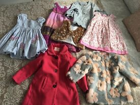 Girls clothes age 1-2 good condition