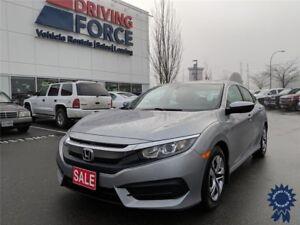 2016 Honda Civic Sedan LX 5 Passenger w/Cloth Bucket Seats
