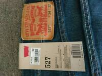 Men's Levis jeans 527 brand new and genuine
