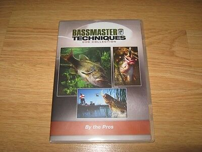 Dvd Bassmaster Techniques Series Fishing By The Pros