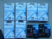 10 Printer ink cartridges