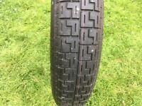 Volvo s40 2005 (mk2) alloys with tires 225/45/R17 + spare wheel