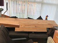 Used solid oak wood flooring £190 O.N.O
