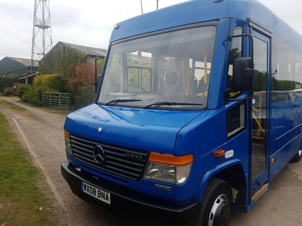 Mercedes benz vario ex council minibus in coalville for Mercedes benz minibuses