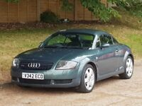 Audi TT (225 BHP) Coupe - 1999/V Reg - British Racing Green - Xenons - FSH - 6 Speed -