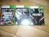 XBOX 360 GAMES X3 310 THE LOT
