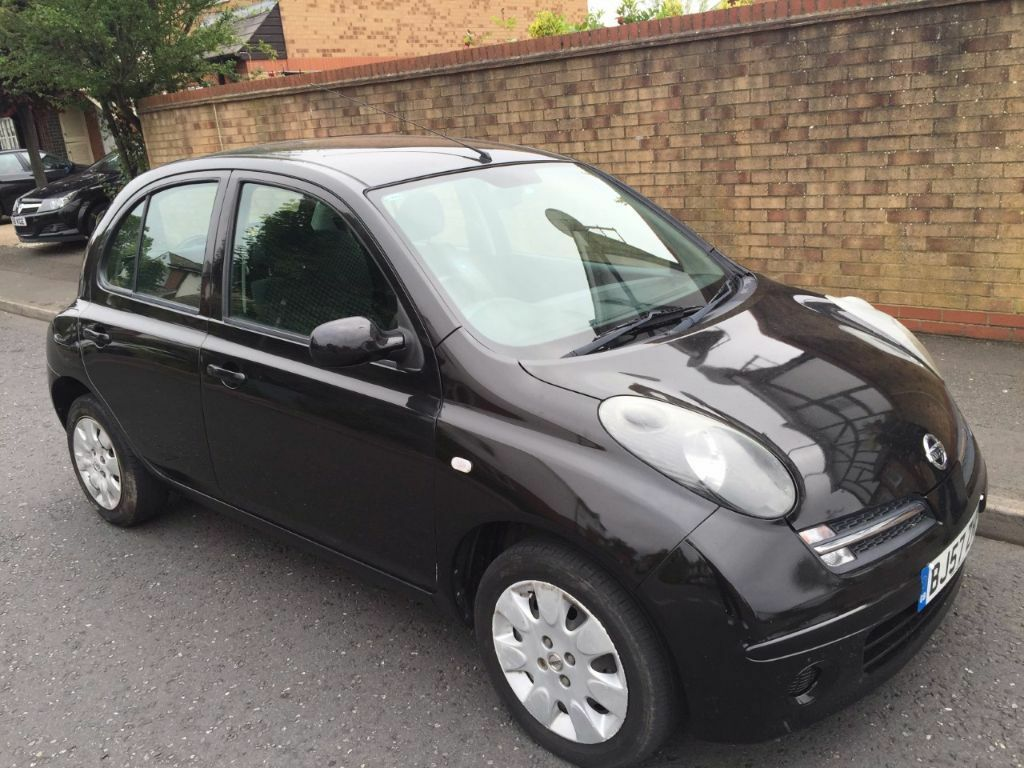 nissan micra 2007 5 door 1 2 petrol must see in barking london gumtree. Black Bedroom Furniture Sets. Home Design Ideas