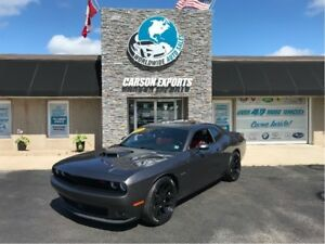 2015 Dodge Challenger R/T SHAKER WITH LOW KMS! FINANCING AVAILAB