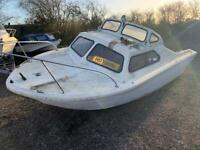 18' Day Boat Cabin Cruiser Project Boat Shell