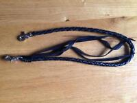Leather chain for wallet.