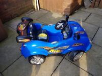 For sale electric kids car 2 seater 12V remote control used only few times for sale  Manchester