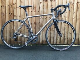 Planet X Spitfire 52cm Titanium Dura Ace Road Bike