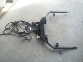 Goldwing 1500 tow bar Shark cb radio