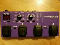 Zoom GFX 1 Effects Pedal