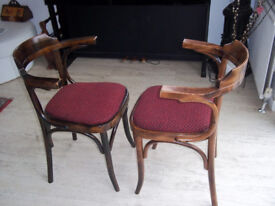 Pair of Country Seat Ben Chairs quality chic & Stylish low back 1995