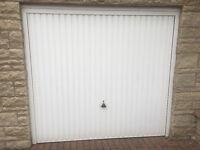 Garage door up and over as new