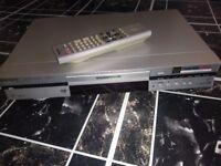 Boxed Panasonic DVD recorder & remote