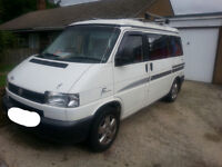 VW T4 campervan 4 berth Reimo conversion