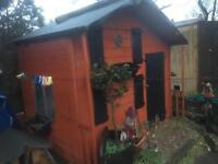 Wendy house/ shed