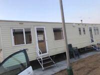 Caravan hire 8birth (TRECCO BAY)