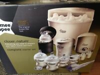 Tommy Tippee Steriliser Set.