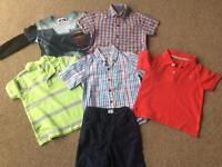 7 Piece NEXT / GAP Boys Spring / Summer Clothes Bundle 3-4 Years