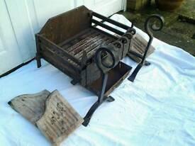Ornate Fire Grate