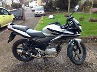 Honda CBF125 motorcycle, 13000 miles, excellent runner, MOT Nov 17, Exeter