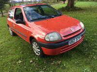 2000 Red Clio