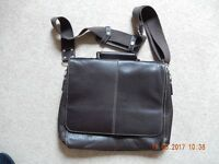 Very Nice Brown Leather Messenger Bag