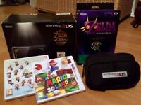 Limited Edition 25th Anniversary Legend Of Zelda Nintendo 3DS Console Bundle