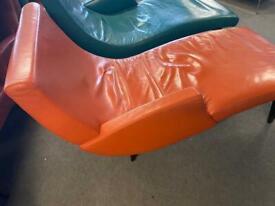 Morosi leather Italian Design lounge chair