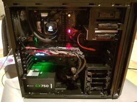 i7 4770k 970gtx 16gb silent gaming PC